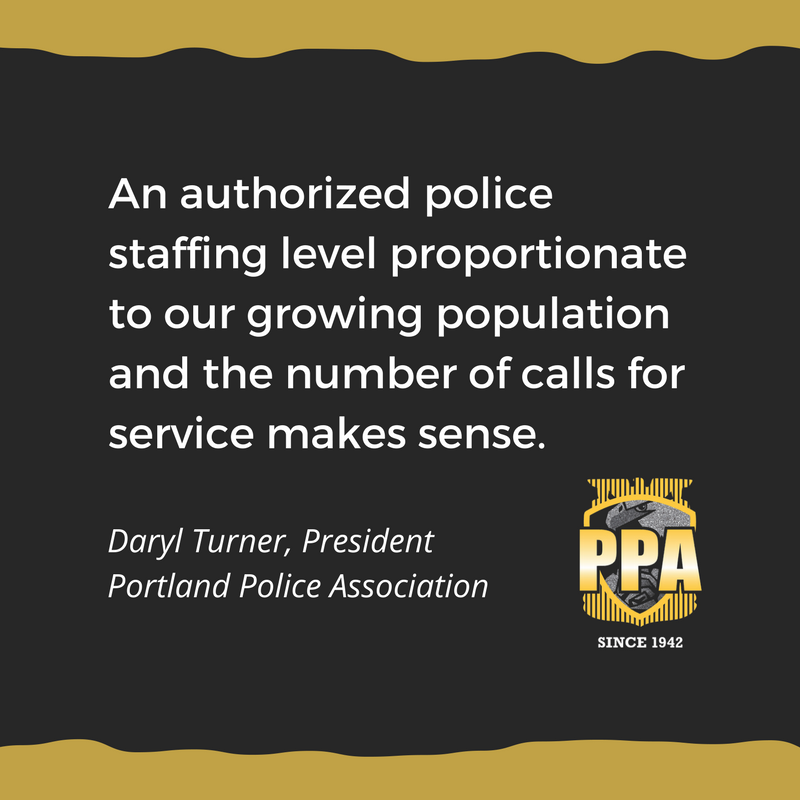authorized police staffing
