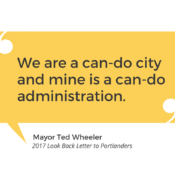 Mayor Wheeler CanDo Quote