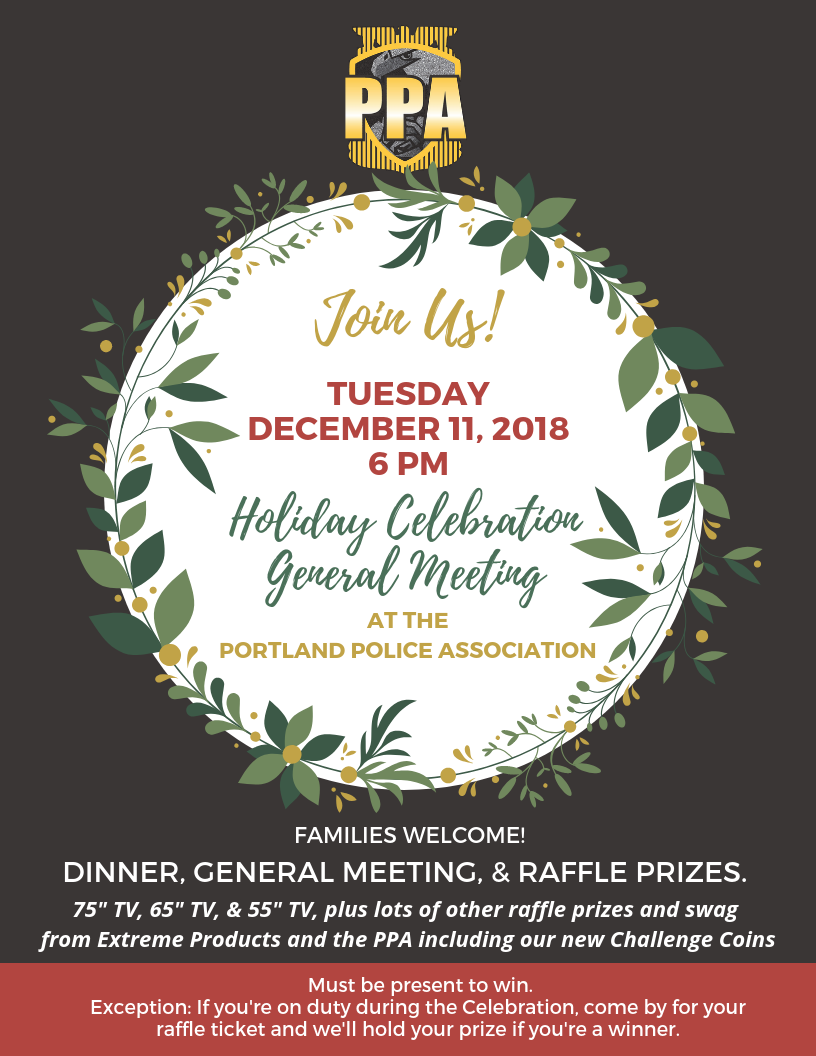 PPA Holiday Celebration and General Meeting